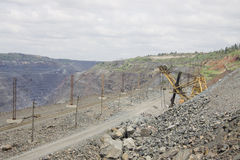 górniczy odkrywkowy Fotografia Stock