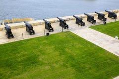 Górny Barrakka ogród Valletta, Malta obraz royalty free