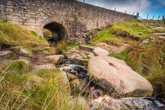 Górny Burbage mosta wschód Fotografia Stock