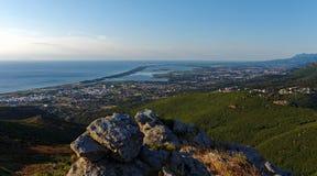Górny Corsica wybrzeże fotografia stock