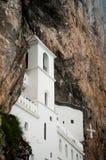 Górny kościół Ostrog monaster Obraz Stock