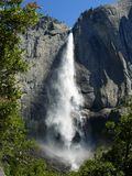 górny się Yosemite Zdjęcia Stock