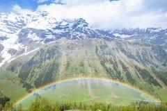 Górny Tauern park narodowy Fotografia Stock