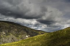 górny widok jeziora ireland Zdjęcia Royalty Free