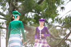 Górscy tancerze. Obraz Royalty Free