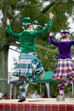 Górscy tancerze. Zdjęcia Royalty Free