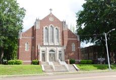 Górscy wzrosty kościół Chrystus Memphis, TN zdjęcie stock