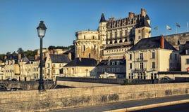 Górska chata d ` Amboise, Francja obrazy royalty free