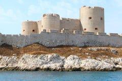Górska chata d ` Jeżeli, Marseille Francja fotografia royalty free