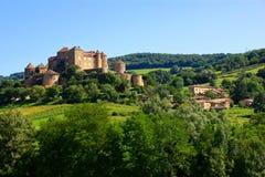 Górska chata De Berze, Burgundy, Francja Fotografia Royalty Free