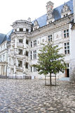 Górska chata De Blois. Część sławny ślimakowaty schody Obraz Stock