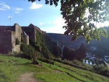 Górska chata De Bouillon zdjęcia royalty free