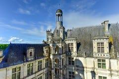 Górska chata De Chambord, Francja - Zdjęcie Royalty Free