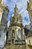 Górska chata De Chambord, Francja - Obraz Stock