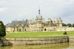 Górska chata de Chantilly, Francja Obrazy Royalty Free