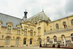 Górska chata de Chantilly, Francja Zdjęcie Royalty Free