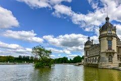 Górska chata de Chantilly, Francja - Obraz Royalty Free