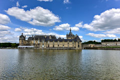 Górska chata de Chantilly, Francja - Zdjęcia Royalty Free