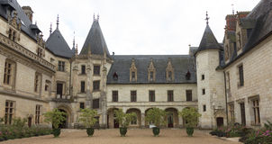 Górska chata de Chaumont, Loire dolina, Francja obraz stock