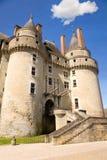 Górska chata De Langeais Zdjęcie Royalty Free