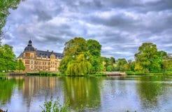 Górska chata De Serrant w Loire dolinie, Francja Zdjęcia Royalty Free