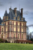 górska chata De Villersexel Zdjęcia Royalty Free