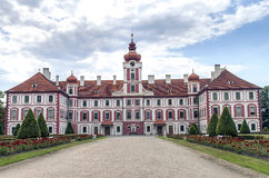 Górska chata Mnichovo Hradiste, republika czech Obraz Royalty Free