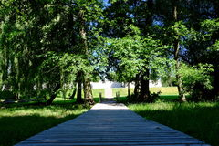 Górska chata park Obrazy Stock