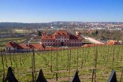 Górska chata Troja w Praga Obraz Stock