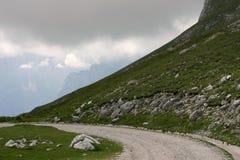 górska droga Obrazy Stock