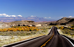 górska droga Zdjęcie Stock