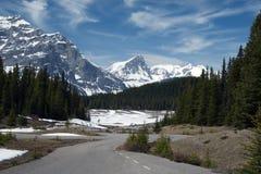 górska droga Zdjęcia Royalty Free