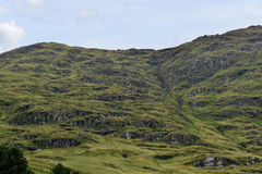 Górska góra obraz royalty free