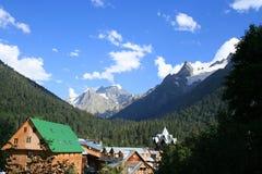 górska wioska Obrazy Royalty Free