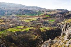 Górska wioska Obrazy Stock