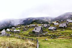 Górska wioska Fotografia Royalty Free