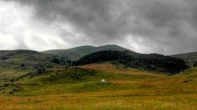 Górska wioska Zdjęcie Royalty Free
