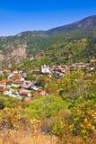 Górska Wioska Pedoulas, Cypr Fotografia Royalty Free