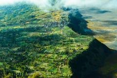 Górska wioska w Bromo, Wschodni Jawa, Indonezja Zdjęcie Royalty Free