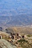Górska wioska w Jemen Zdjęcie Stock