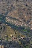 Górska wioska w Maroko Fotografia Stock