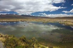 górski jezioro Zdjęcie Royalty Free