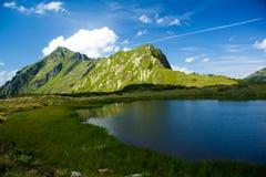 górski jezioro Fotografia Royalty Free