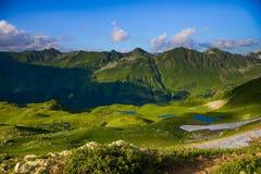 górski jezioro Obraz Stock