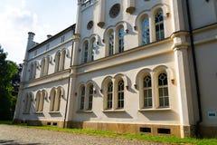 Górskich chat stajenki barok Roszują Lany, lata Czeski prezydent siedziba Obrazy Royalty Free