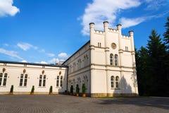 Górskich chat stajenki barok Roszują Lany, lata Czeski prezydent siedziba Fotografia Royalty Free