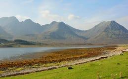 Górskie góry Zdjęcie Royalty Free