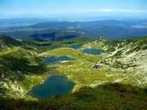 górskie jezioro Zdjęcia Royalty Free