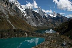 górskie jezioro zdjęcie stock