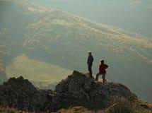 górskie na krymie ludzi zdjęcia stock
